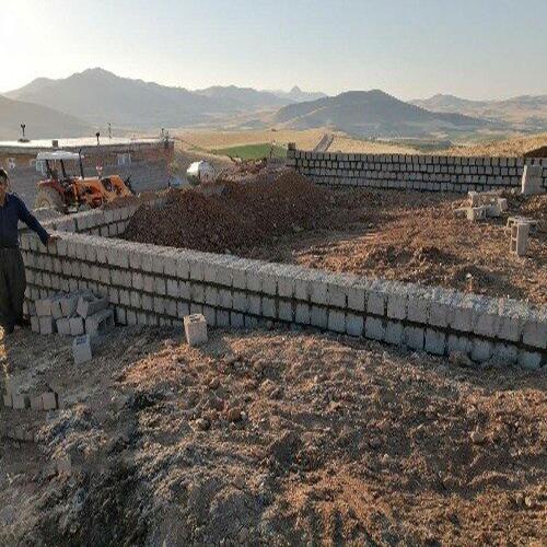 زمین دیوارکشی شده در کالدشت